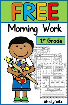 First Grade Morning Work - Education interests First Grade Homework, First Grade Curriculum, First Grade Freebies, 1st Grade Writing, Teaching First Grade, First Grade Reading, First Grade Classroom, First Grade Math, Second Grade