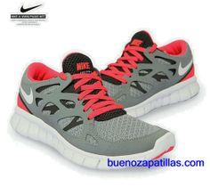 Nike Roshe Run Gris Y Rosa