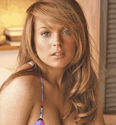Lindsay's face remained the same through 11 movies and 3 arrests
