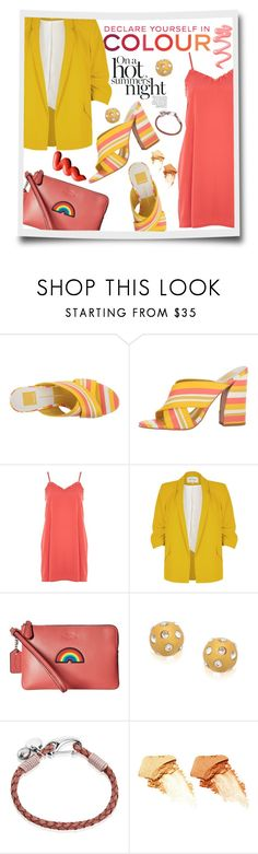 """Spring-Summer 17 (Plus Size Chic)"" by foolsuk ❤ liked on Polyvore featuring Dolce Vita, BY SOPHIE, Topshop, Chanel, River Island, Coach and NARS Cosmetics"