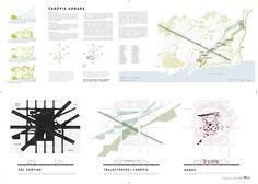 Primer Lugar Concurso Plaza de les Glòries / Barcelona, España.,Lámina 01. Image Courtesy of Agence Ter & Ana Coello