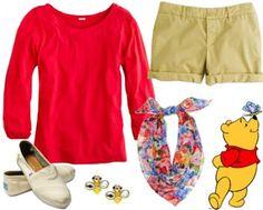 Fashion Inspiration: Walt Disney's Winnie the Pooh