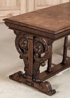 Antique Italian Renaissance Coffee Table | From a unique collection of antique and modern coffee and cocktail tables at http://www.1stdibs.com/furniture/tables/coffee-tables-cocktail-tables/