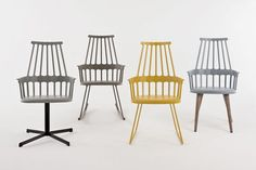 Comback Chair - 4 wood legs version