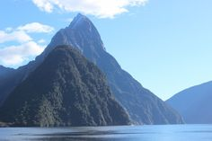 Milford Sound - Queenstown Coach and Cruise Day Tour. Take the journey down to Milford Sound to see incredible views like this one! Stuff To Do, Things To Do, Queenstown New Zealand, Milford Sound, South Island, Day Tours, The Locals, Cruise, National Parks