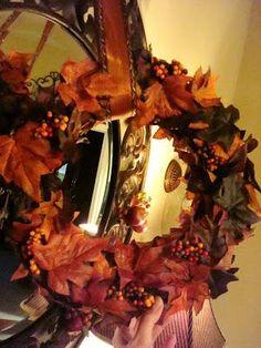 DIY Autumn : DIY fall wreath.