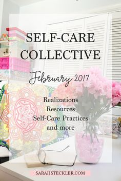 Starting this year, I'll be posting a monthly self-care collective of updates, realizations, resources, and self-care practices that I'm trying out or involved in. There are limitless ways to practice self-care, deepen awareness, and create daily routines and rituals in your life that serve you fully and completely. Let's dive into those together <3