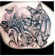 Love it except the butterflies..would rather see old school roses