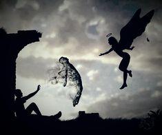 Beyond Ordinary: Thinking Thoughts Through. Transferring Information. Ascending Ones Spirit Beyond New Realities. Dark Photography, Creative Photography, Dark Fantasy Art, Dark Art, Art Sketches, Art Drawings, Arte Obscura, Angel Art, Fantastic Art