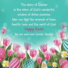 Inspirational easter messages easter message bible happy easter family easter message m4hsunfo
