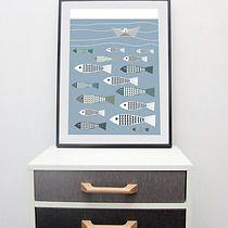 plakat RYBY, pokój dziecka - obrazy i plakaty
