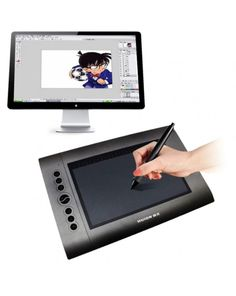 HUION H610 USB 10 x 6 inch 4000LPI 8 ExpressKey Professional Digital Graphic Drawing Tablet Drawing Board #0