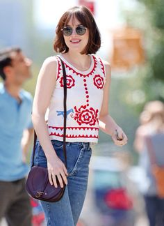 I swear Dakota's fashion sense is amaze especially casual ones