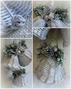 Foto Christmas 2017, Christmas Art, Christmas Holidays, Christmas Wreaths, Christmas Centerpieces, Christmas Decorations, Holiday Decor, Papercrete, Newspaper Crafts
