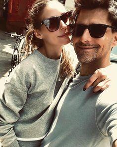 "9291 харесвания, 33 коментара – Johannes Huebl (@johanneshuebl) в Instagram: ""Sporty Sundays"" Johannes Huebl, Olivia Palermo Style, Stylish Couple, Mens Sunglasses, Sporty, Couples, Instagram Posts, Fashion, Moda"