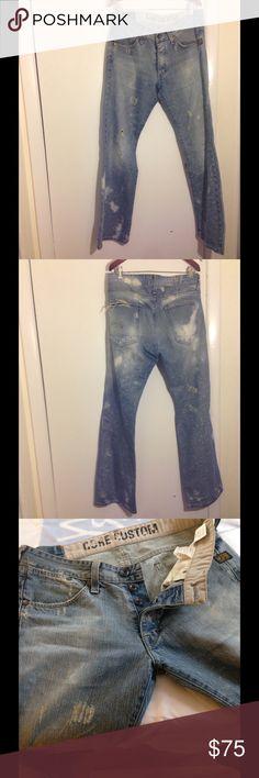 G-STAR Men's Raw Denim Jeans Pants G-STAR Men's Raw Denim Jeans Pants  ... Size 33 X 32 ... Excellent Condition. G-Star Jeans Bootcut