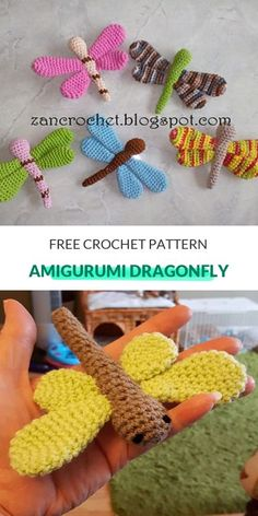 Amigurumi Dragonfly Free Crochet Pattern - There is is, the master of spring, the natural helicopter also known as the dragonfly! We are presenting you the cutest and most colorful animal namely, the Amigurumi Dragonfly. As a butterfly resembling animal, we are most likely to see them in the garden or in the nature during spring and summer. But what if there is a chance to have them all year long indoors or in our garden? Indeed, the Amigurumi Dragonfly will never fly away, will never lose…