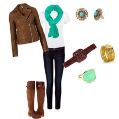My go to outfit for fall..