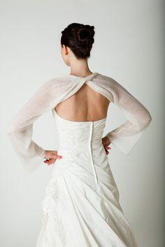 Hochzeit Bolero Schal gedreht für das Brautkleid von Weddingbolero