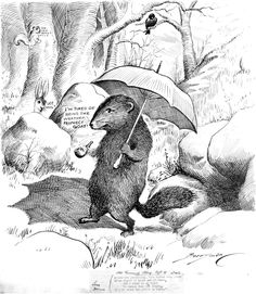 Pictures in Time: On this day in 1887, the first ground hog meteorologist, is celebrated for the first time at Gobbler's Knob in Punxsutawney, Pennsylvania.