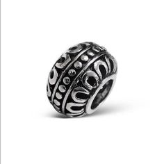 Round Bead Charm in 925 Stamped Sterling Silver *** Check out this great product. (This is an affiliate link) #Charms