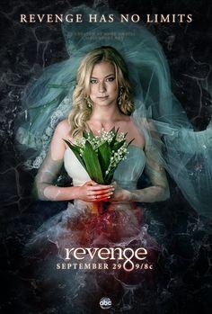 Revenge - Serie TV - look - style - estilo - inspiration - inspiração - moda - fashion - bride - noiva - sangue - blood - Amanda Clarke - Emily Thorne (Emily VanCamp)