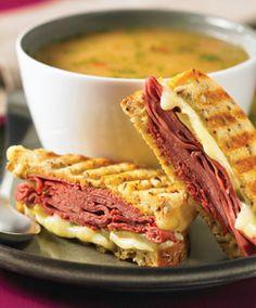 Grilled Carnagie Sandwich