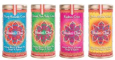 Bhakti Chai infuses fresh-pressed organic ginger and fiery spices into Fair Trade Certified black tea for a chai that energizes the spirit.