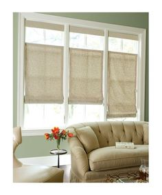 Idea for my living room windows. Sunroom Curtains, Cottage Curtains, Sunroom Windows, Living Room Windows, Curtains With Blinds, My Living Room, Bathroom Windows, Sunroom Window Treatments, Window Coverings
