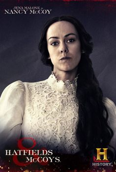 Jena Malone is Nancy McCoy on History Channel's Hatfields & McCoys