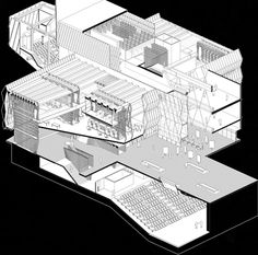 Marvelous Home Design Architectural Drawing Ideas. Spectacular Home Design Architectural Drawing Ideas. Axonometric View, Axonometric Drawing, Isometric Drawing, Architecture Graphics, Architecture Drawings, Architecture Details, Rendering Architecture, Architecture Diagrams, Architecture Portfolio