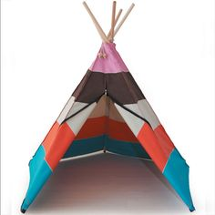 Hippie Tipi Play Tent Multi Blue