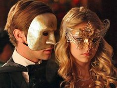 Gold and Silver Masquerade Mask Petite by TheCraftyChemist07