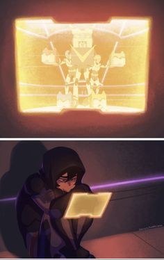 I'M CRYING >>>> Marmora Keith watching Voltron on Ice Show>>> just put him back where he belongs pls omg