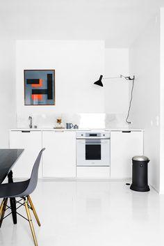 Kitchen in 3 style for Deko-magazine by Susanna Vento