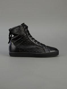 #Women's #HOGAN  #hightop #sneaker.  Our Letizia's favorite new hogans.
