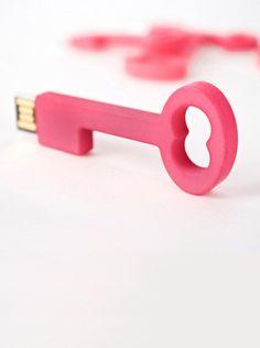 key usb. cute!
