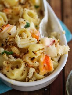 Lobster Mac & Cheese, yes please.