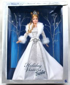 Barbie Holiday Visions Winter Fantasy 2003--looks even more mystical in person than it does in the picture.