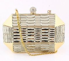 Deco inspired clutch