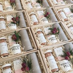Simone LeBlanc is custom gift box company located in Los Angeles creating custom gift baskets for birthdays, baby showers, weddings, and special events. Custom Gift Boxes, Customized Gifts, Wedding Gift Boxes, Wedding Gifts, Craft Gifts, Diy Gifts, Wine Gift Baskets, Basket Gift, Bridal Gifts