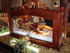 Cristo Yacente en Santo Sepulcro, Parroquia Santo Domingo, Heredia, Costa Rica