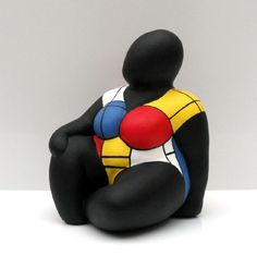 Big and beautiful. African Pottery, Plus Size Art, Fat Art, Piet Mondrian, Creative Workshop, Chi Chi, Figure Painting, Big And Beautiful, Statues