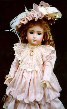 """Sonneberg Child""""  Originally made in Germany for the French Trade, circa 1890."""
