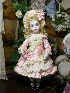 Bru Jne 11 Doll Antique Replica