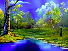 Twilight Meadow - The Joy of Painting S5E2