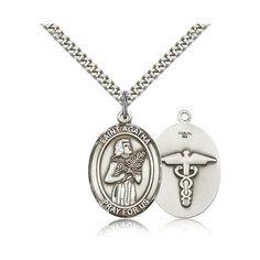 Sterling Silver St. Agatha Nurse Pendant w/ chain