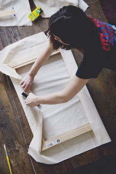 Make: How to Stretch Your Own Canvas for Your Next Painting