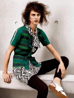 From the new Marni for H&M collection...now there's a high street collaboration worth getting in line for...