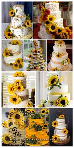 47 Sunflower Wedding Ideas for 2020 Sunflower is a symbol of joy, peace and prosperity.Sunflowers are everybody's love!Sunflower wedding themes represent happiness, vibrancy and prosperity. Fall Sunflower Weddings, Sunflower Wedding Decorations, Sunflower Party, Sunflower Cakes, Sunflower Baby Showers, Wedding Cakes With Sunflowers, Sunflower Wedding Bouquets, Sunflower Centerpieces, Summer Wedding